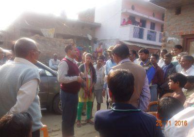 Gram Takiya Sultanpur Inspection
