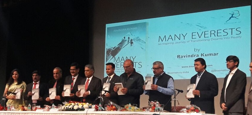 Book release by Cabinet secretary